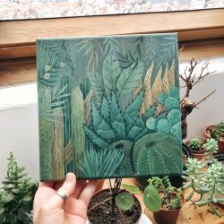 Botanical garden canvas